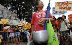Дефицит риса и рост цен вполне могут стать причиной народных волнений. Фото AFP