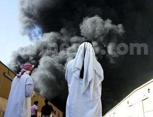 Мощнейший взрыв в Дубаи: взлетел на воздух склад пиротехники
