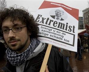 Жители Амстердама протестуют против публикации антиисламского фильма