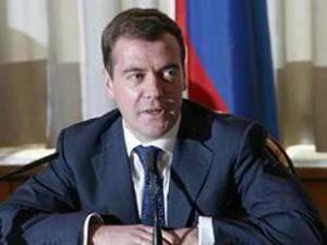 На выборах победил Медведев