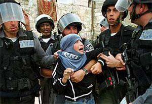Израильские солдаты и палестинский мальчик (Иерусалим)