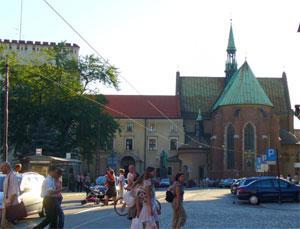 Костел в Кракове (Польша)