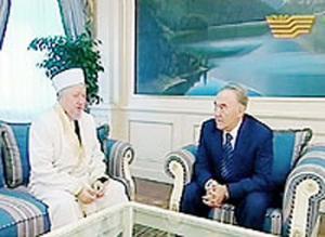 На встрече президента Казахстана с Абсаттаром Дербисали