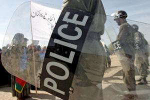 Полицейские - излюбленная мишень афганских сил сопротивления. Фото EPA