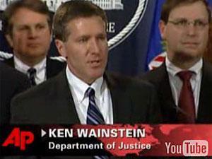 Руководитель пресс-службы министерства юстиции США Кен Вайнштейн