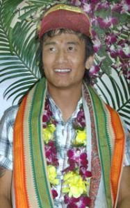 Индийский футболист отказался от олимпийского огня