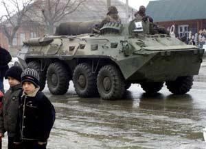 Дети часто становятся жертвами конфликта в Чечне