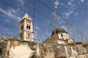 Христианский квартал в оккупированном Иерусалиме