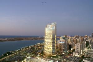 Абу Даби с высоты птичьего полета