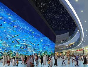 Объявлена дата открытия самого крупного в мире торгового центра