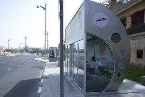 Дубай стал первым в мире городом с кондиционированными автобусными остановками