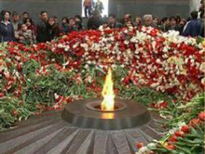 Армяне напомнят сегодня о геноциде