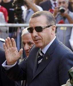 Лидер ПСР Реджеп Эрдоган