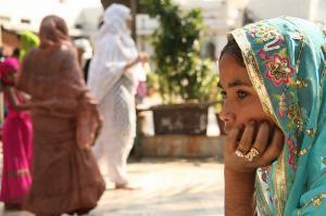 В индийской мечети