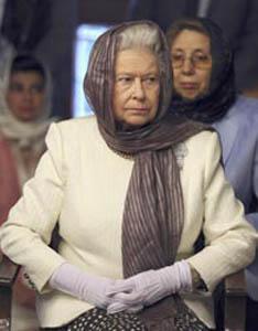 Королева Великобритании надела хиджаб