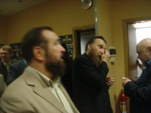Нафигулла Аширов и Александр Дугин после эфира