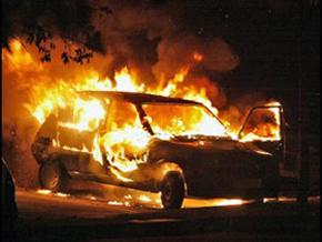 Задержаны предполагаемые поджигатели машин