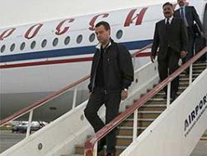 Президент России отправляется в азиатское турне