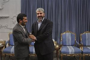Встреча Ахмадинежада и Машааля: сионисты полностью деморализованы