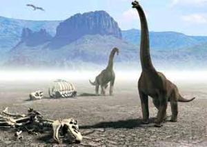 По Аравии разгуливали динозавры