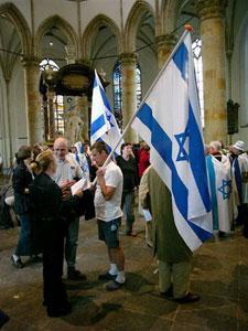 Католики помолились о здравии израильтян