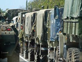 Россия перебрасывает войска в Абхазию