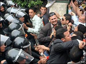 Предыдущая забастовка в Египте завершилась столкновениями с полицией
