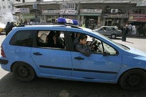 Полицейские автомобили ХАМАС стали в Газе бесплатным такси