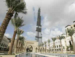 """Эмиратские строители превращают """"Башню Дубаи"""" в гигантское зеркало"""