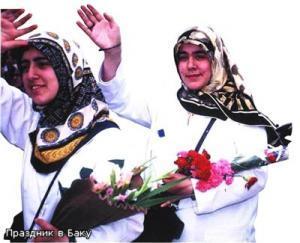 Празднование дня рождения дочери Пророка Фатимы в Азербайджане