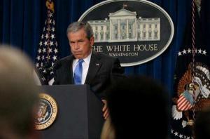 Буш сожалеет о своих словах