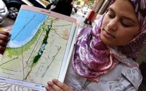 На египетских картах нет места еврейскому государству