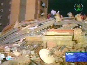 В Алжире произошло землетрясение