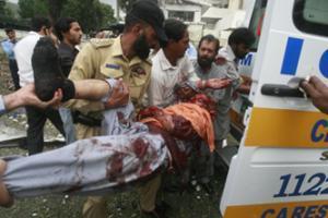 Взрыв возле посольства Дании в Пакистане: 4 погибших