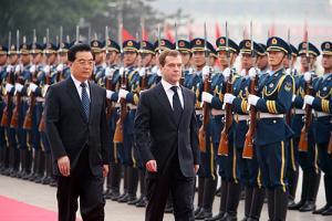 Пекин. Официальная церемония встречи.