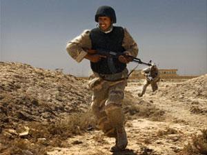 Австралийский солдат в Ираке
