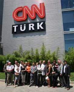 Российские журналисты в Стамбуле. Фото В. Проханова.