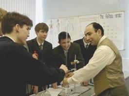Урок химии в татарско-турецком лицее-интернате №7 г.Казани. Фото: Росбалт