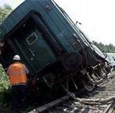 Поезд сошел с рельсов в Амурской области: 60 человек ранены