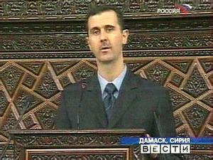 Еврейское государство не стремится к миру, считает президент  Сирии