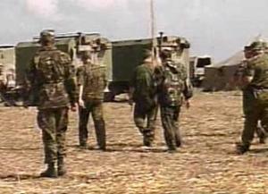 Вслед за железнодорожными войсками в Абхазию вошла российская тяжелая техника