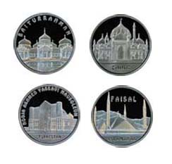 В Казахстане выпущены монеты с изображением мечетей