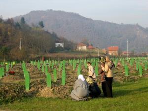 Мемориал в Серебрянице