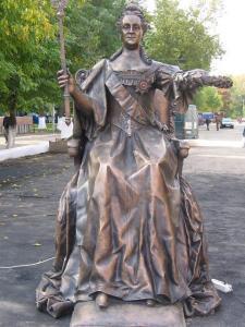 Памятник Екатерине II в Севастополе суд признал незаконным