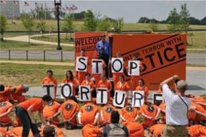 Оранжевая камера узников Гуантанамо приехала в Вашингтон