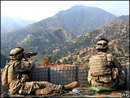 Вместо американских солдат патрулировать провинцию Кунар теперь придется афганской полиции