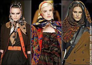 Хиджаб выходит на европейский подиум