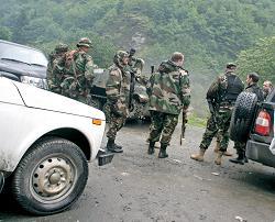 Под Тбилиси идут совместные учения армий США и Грузии, Азербайджана, Армении и Украины