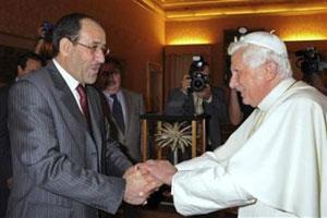 Папу Бенедикта XVI пригласили в Ирак