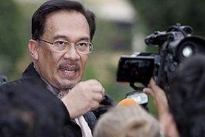 Арестован лидер оппозиции Малайзии